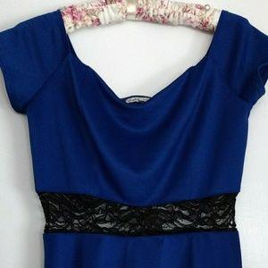 Charlotte Russe Royal Blue Dress